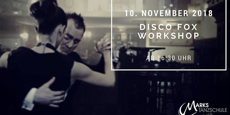 Disco Fox Workshop mit abschließendem Tanzabend