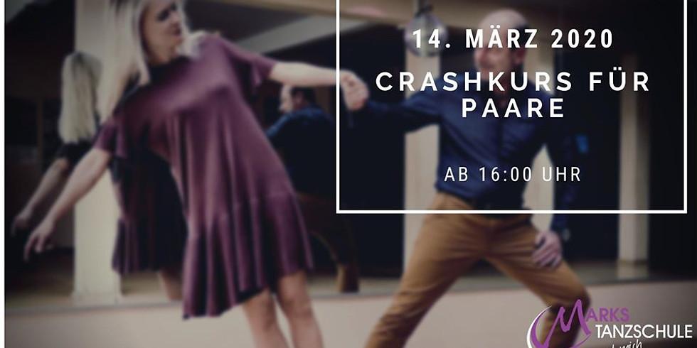 Crashkurs für Paare mit abschließendem Tanzabend