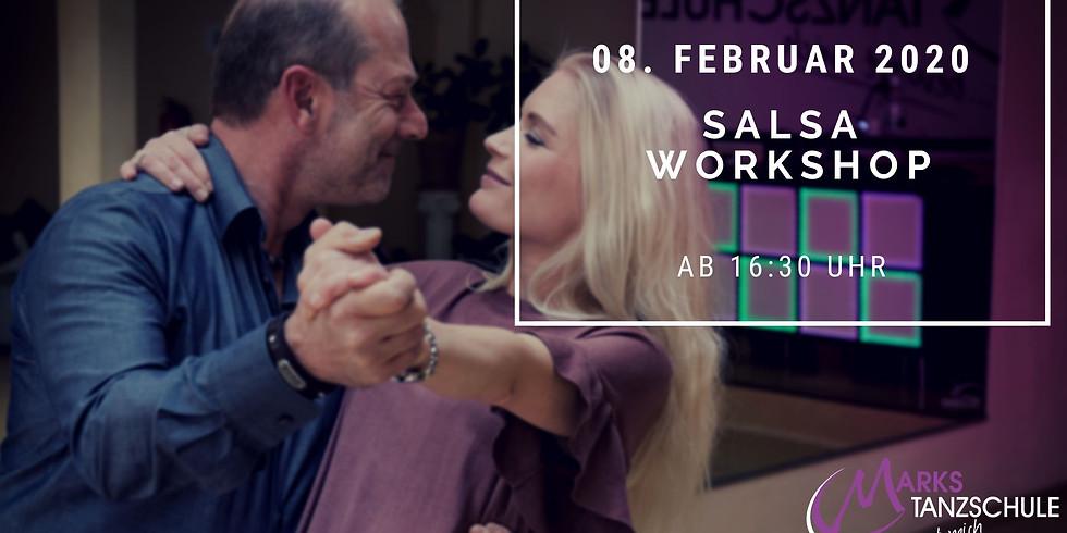 Salsa Workshop mit abschließendem Tanzabend