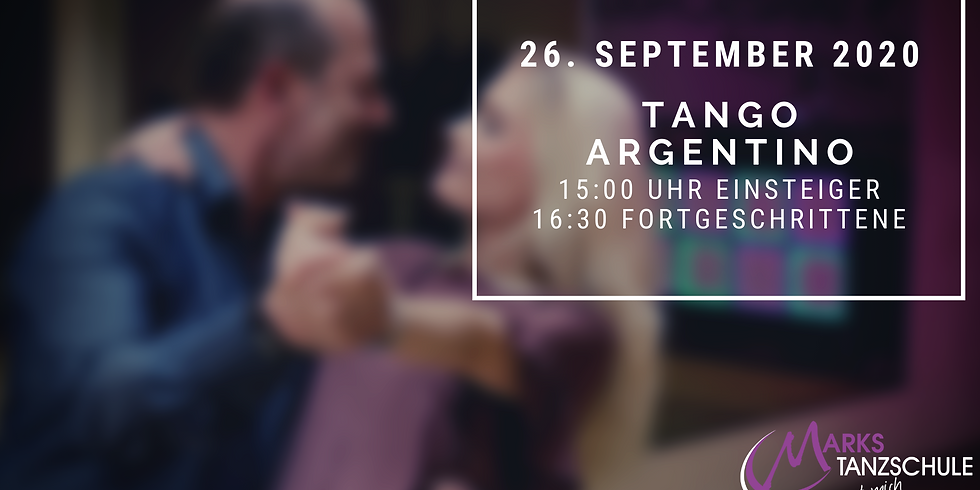Tango Argentino Workshop 26. September