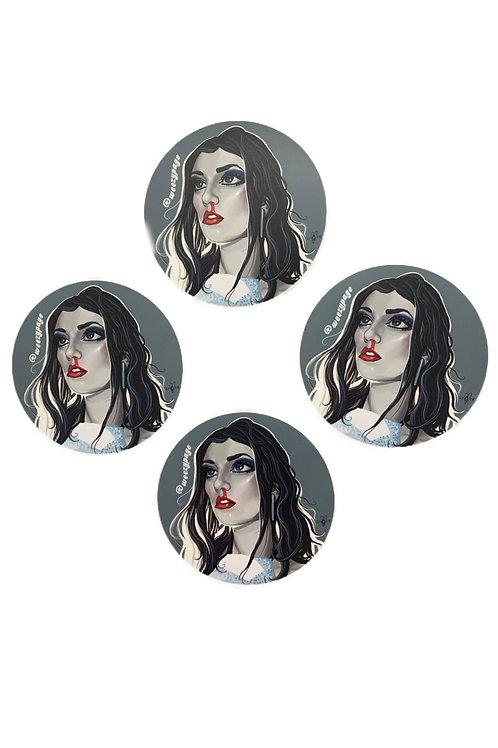 Face A$$ Sticker