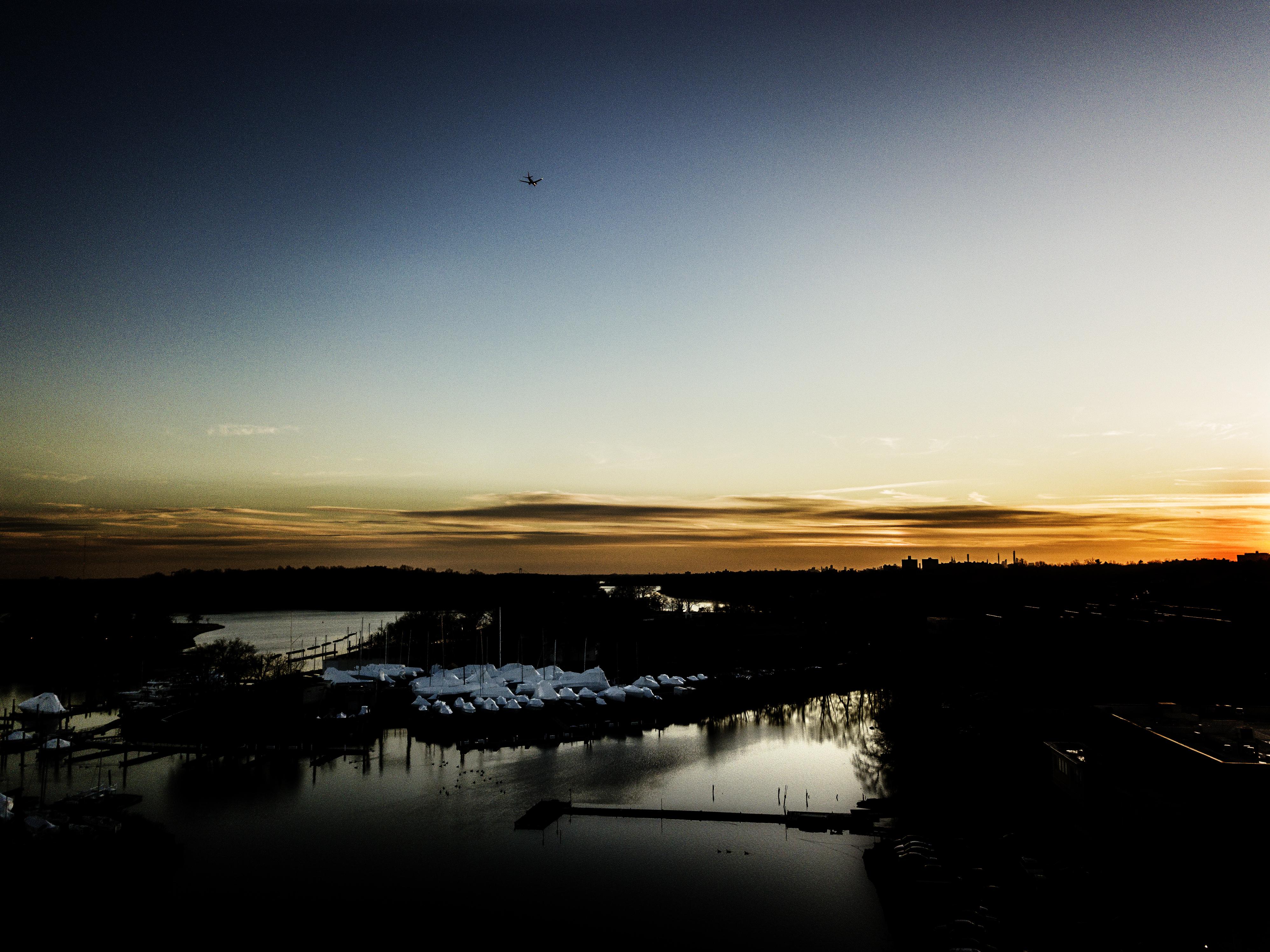 Drone Pelham Harbor