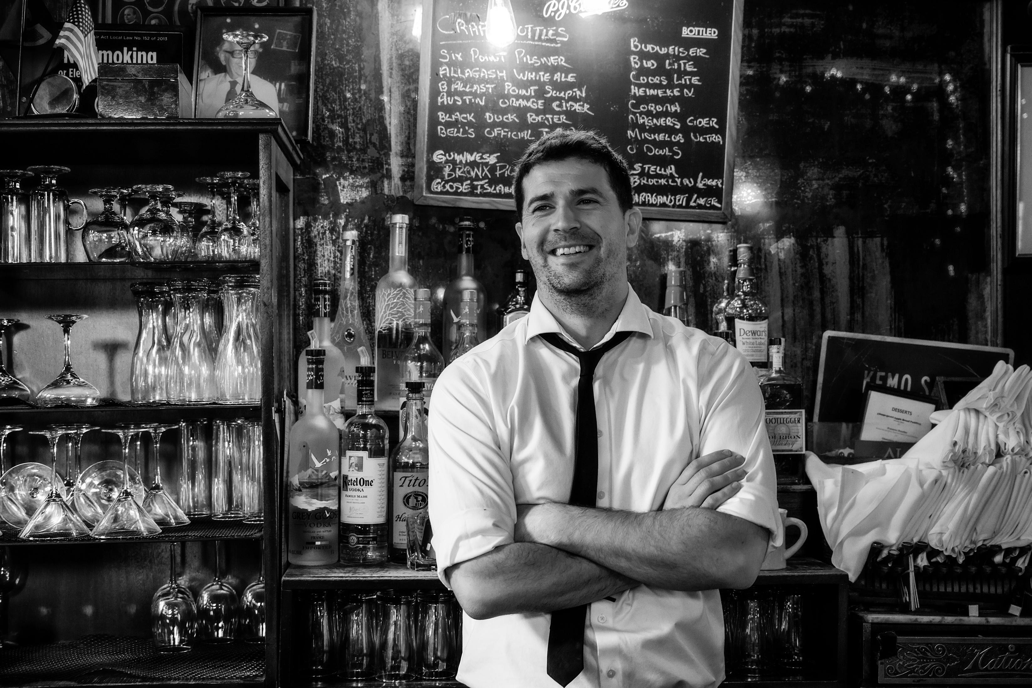 Andy Bartender PJ Clarke