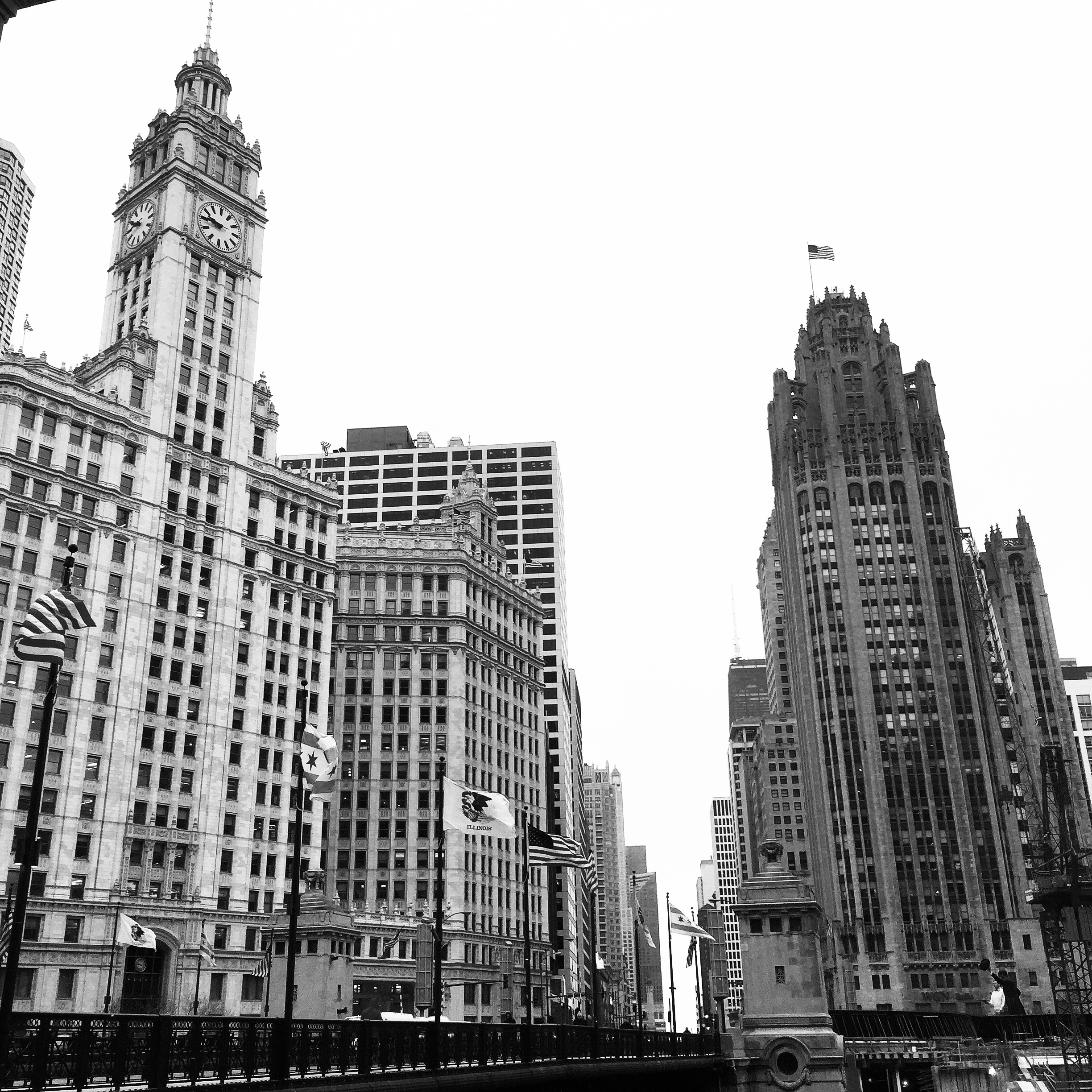 Wrigley/Tribune Building Chi