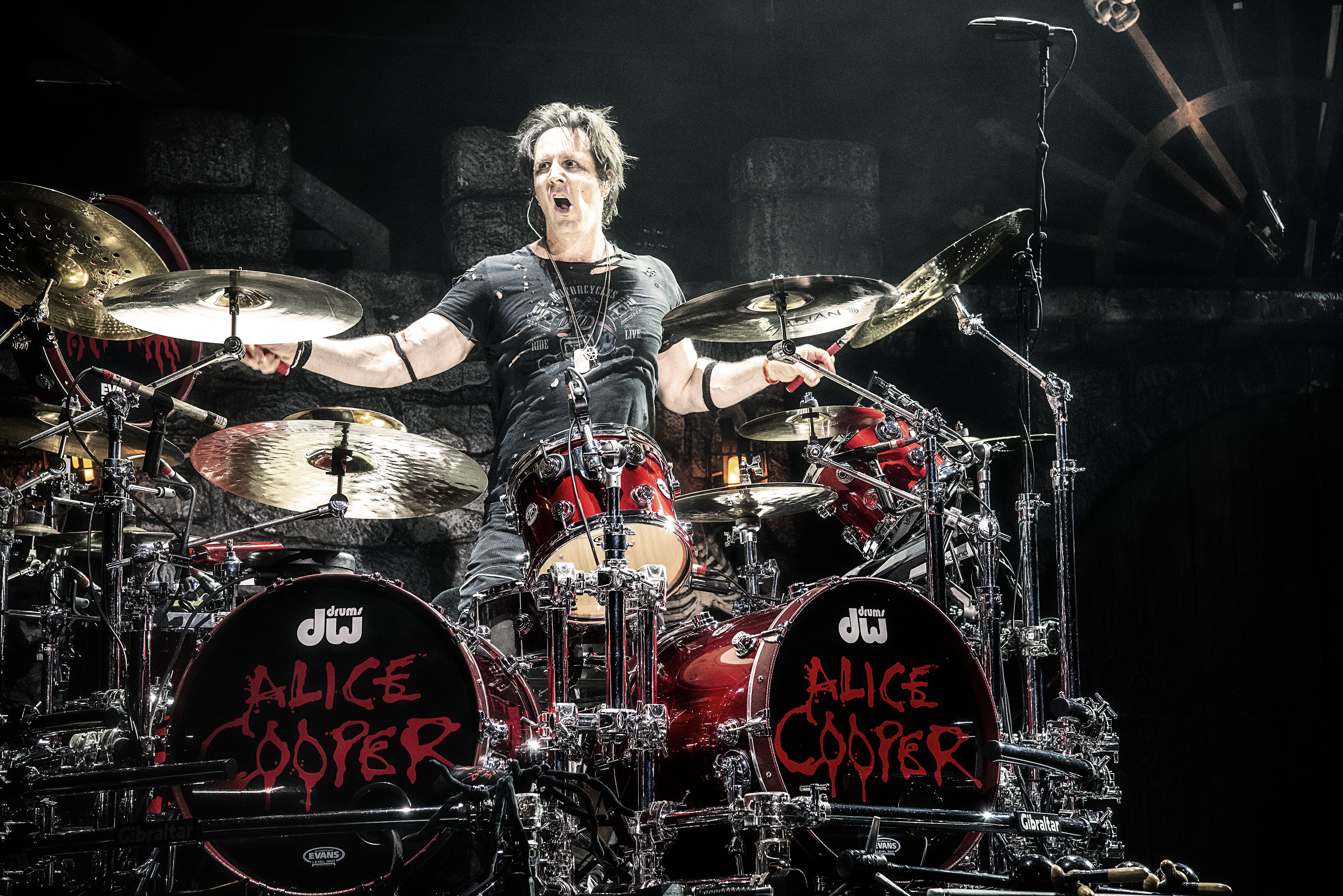 Glen Sobel Alice Cooper