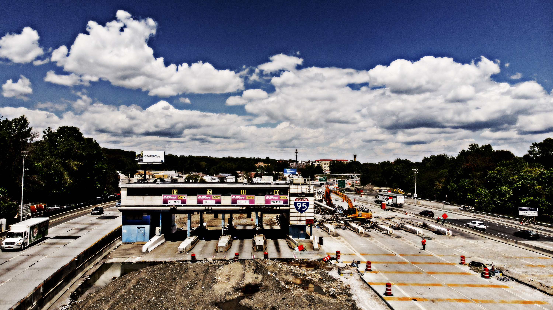 I95 Construction Toll Plaza