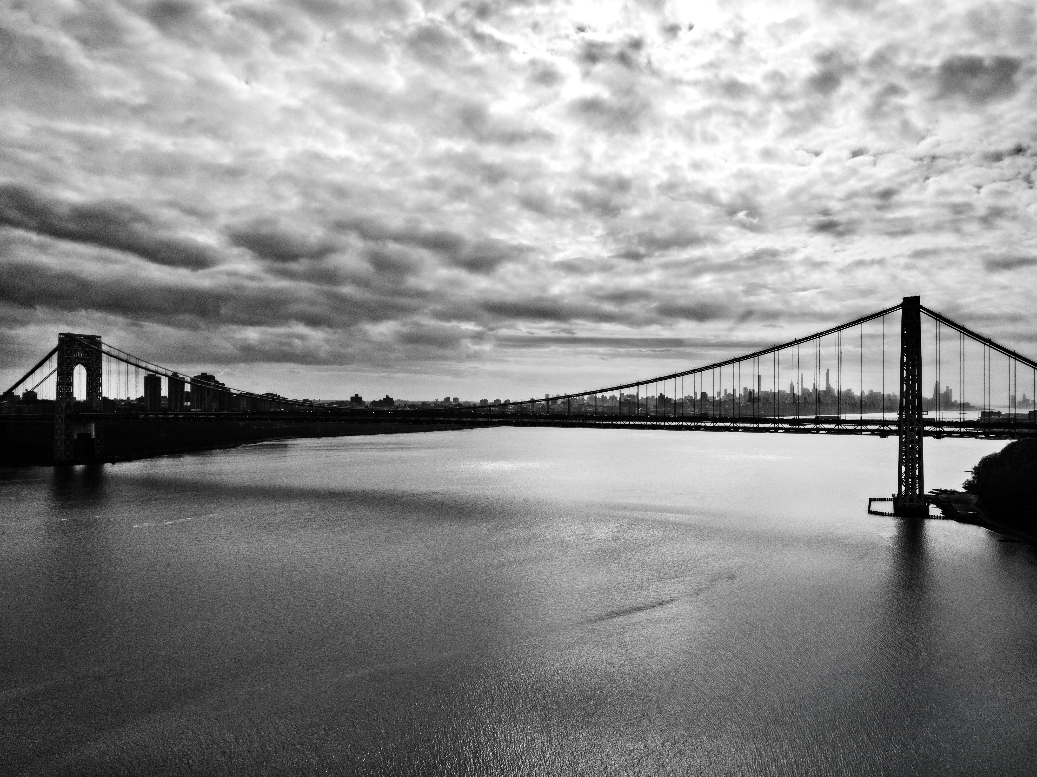 Drone GW Bridge