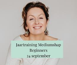 Jaartraining Mediumschap - 24 September