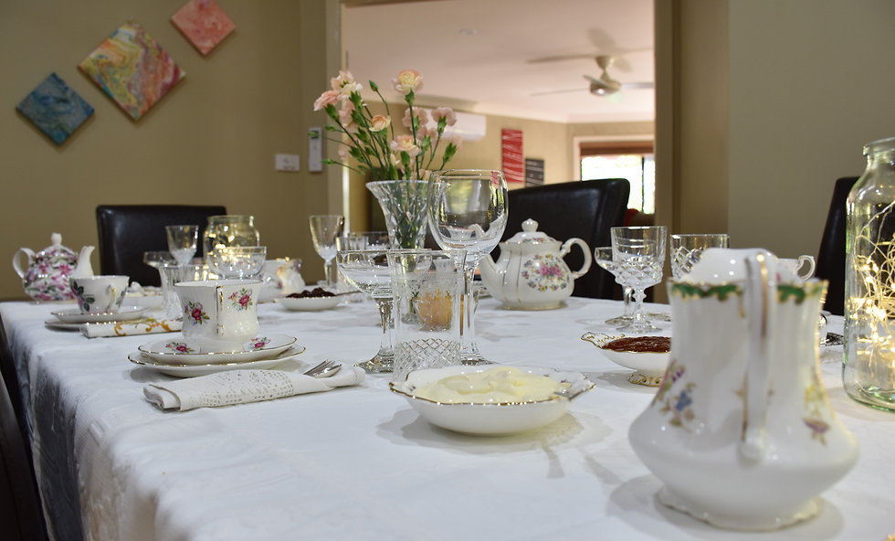 Vintage High Tea Setting - Mother's Day - Your Cup of Tea Vintage Hire.JPG