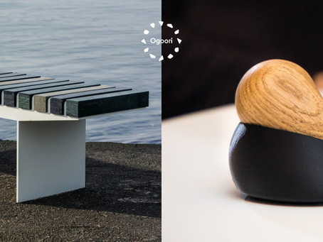 New Products from Ope and Vestre using Ogoori's Marine Plastic