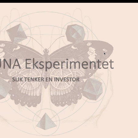Ogoori Selected into Stavanger's Fauna Experiment Program
