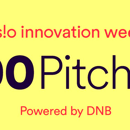 Guess Who Got Selected into Oslo Innovation Week's 100 Pitches?