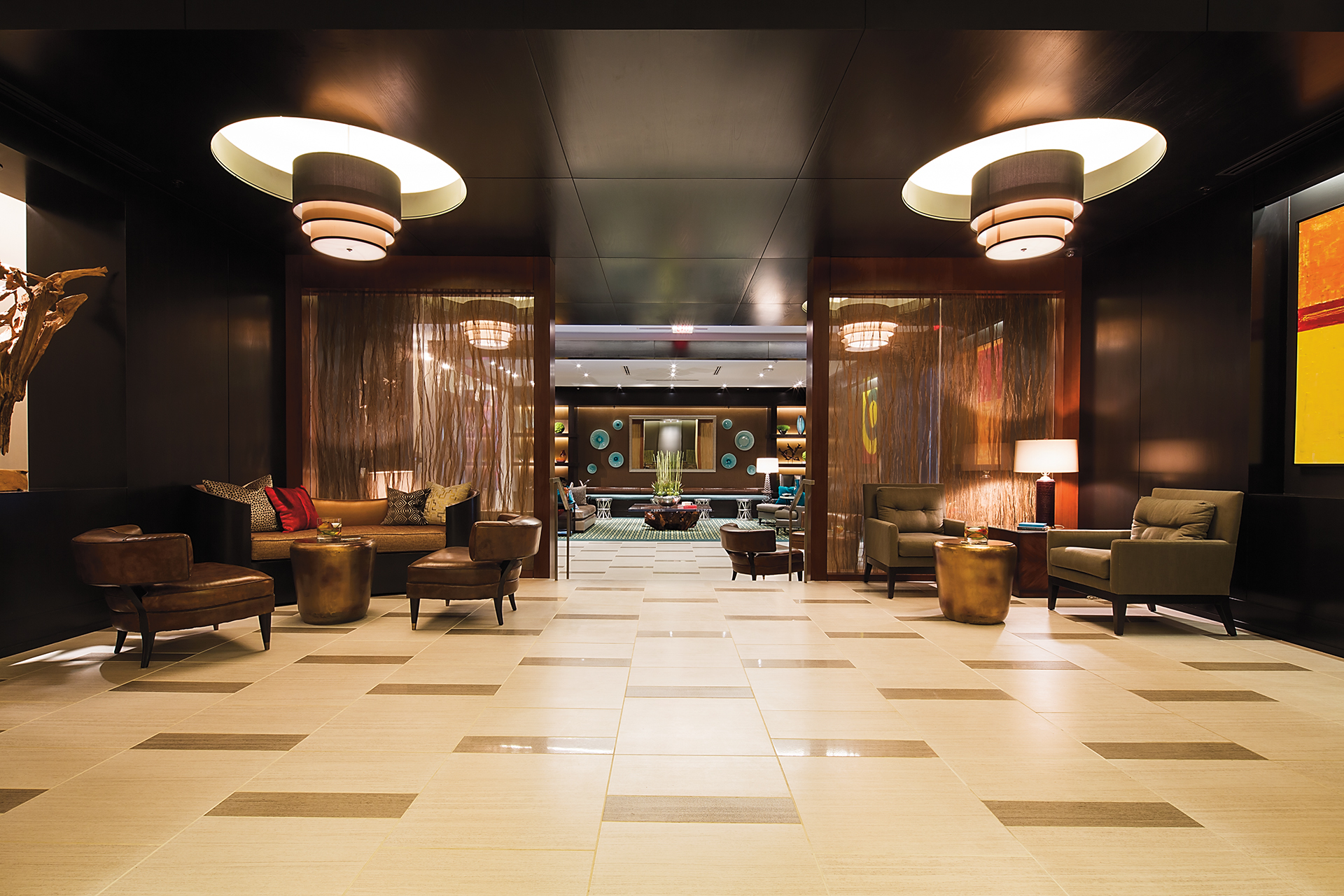 The Continental Lobby