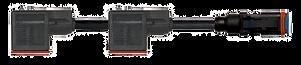 2x Form A Valve to Plug
