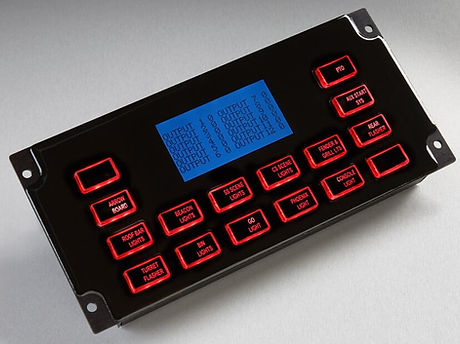16 Position LCD Display Screen and CAN Control