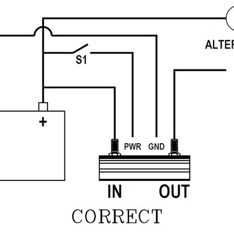 High Current Switch Alternative Set-Up