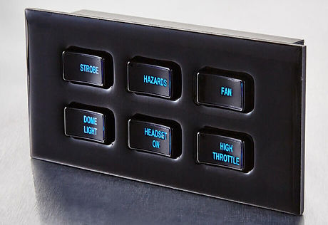 6 Position CAN-Based Switch Panel