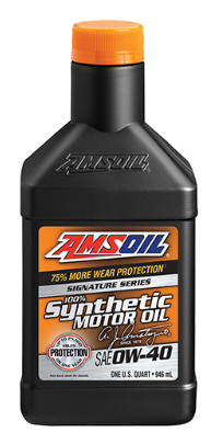 Signature Series 0W40 Synthetic Motor Oil