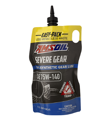 Severe Gear Synthetic EP Gear Lube 75W140 (SVO)