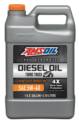 Heavy-Duty Synthetic Diesel Oil 5W-40
