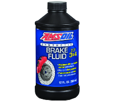 Amsoil Synthetic Brake Fluid DOT 3 + DOT 4