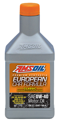 European Car Formula 0W40 Classic ESP Synthetic Motor Oil