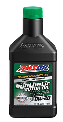 Signature Series 0W20 Synthetic Motor Oil