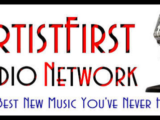 TUNE IN for my guest spot on the ArtistFirst radio show.