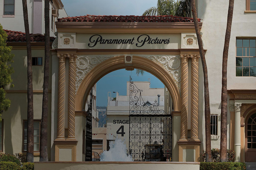 The famous Bronson Gate at Paramount.