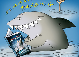 By artist Jack Keely. SUMMER READING!!