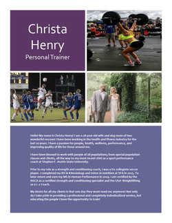 Christa Train