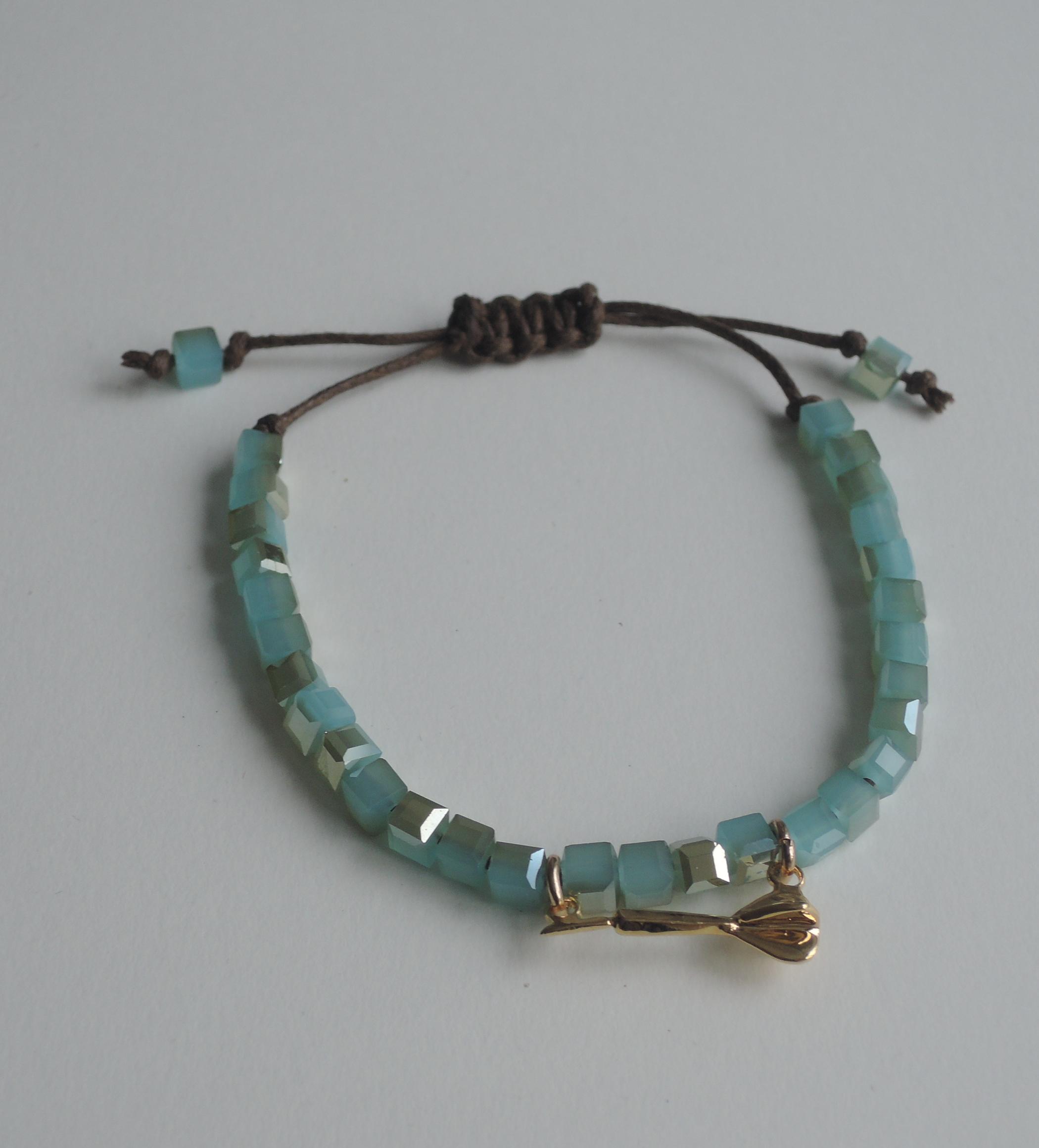 Dart Charm Stretch Bracelet