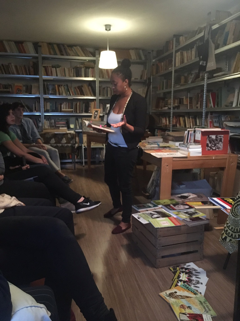 Intersection of race and gender tour at the Black Archives