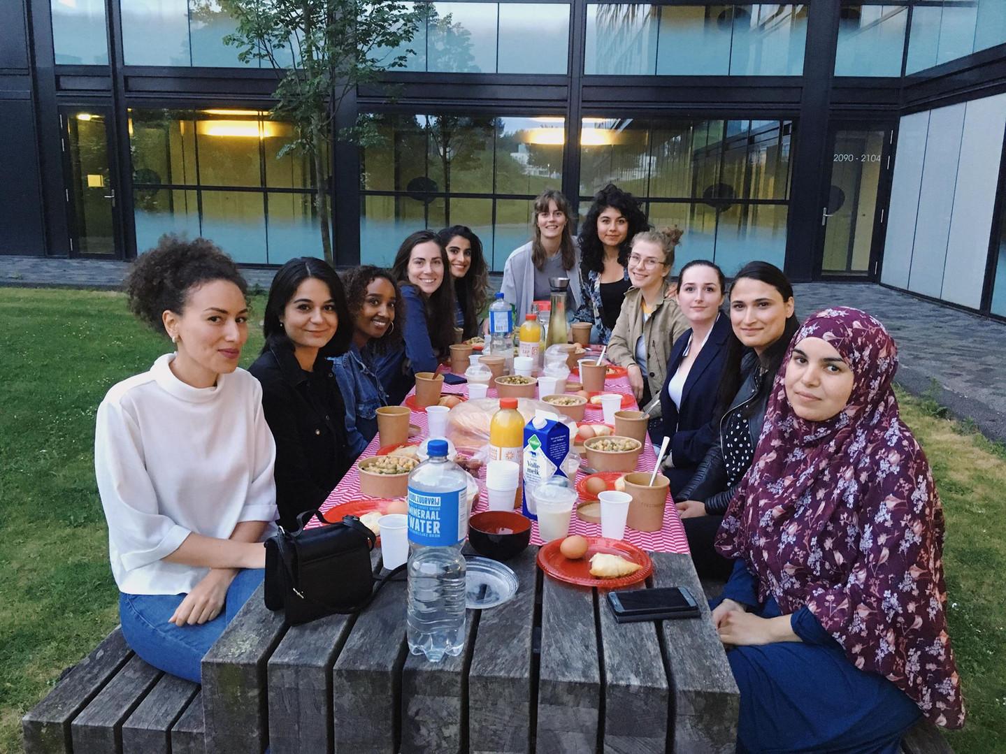 Wonda Women's Iftar with Ibtissam Abaâziz