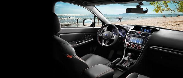 Subaru XV udsigt og instrumentbræt