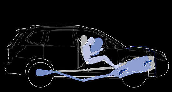 Airbags og sikkerhed Subaru