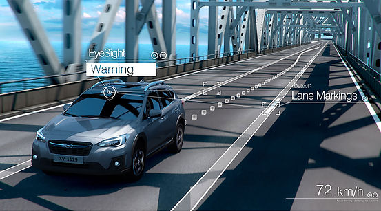 Eyesight Warning Subaru