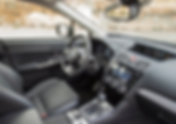 Subaru Levorg interiør