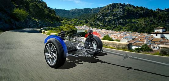 Symmetrisk firehjulstræk Subaru Levorg