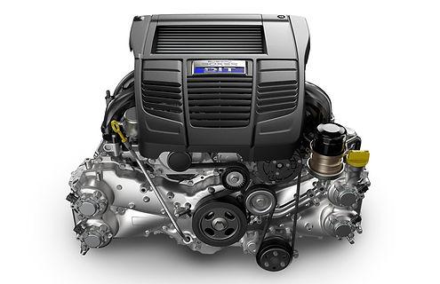 boxermotor i Subaru Levorg