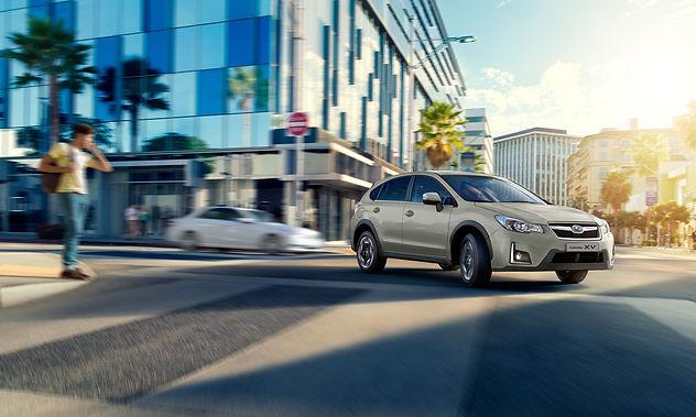 Subaru XV design