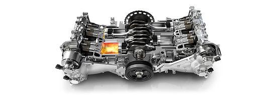 boxermotor i Subaru Forester