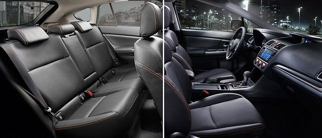 Subaru XV interiør