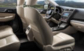 Plads til det hele i kabinen i Subaru Forester