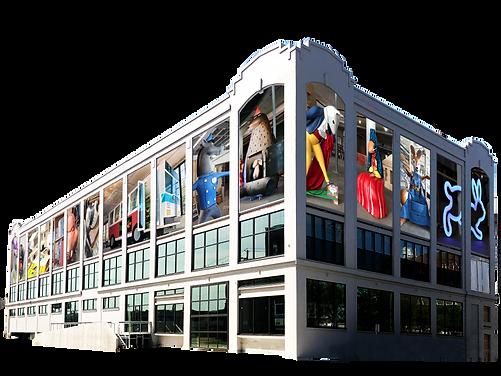 eoy building with exhibits in wondows.pn