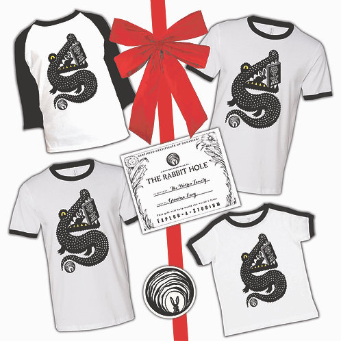 Good Things Come Family of 4 T-shirt gift set