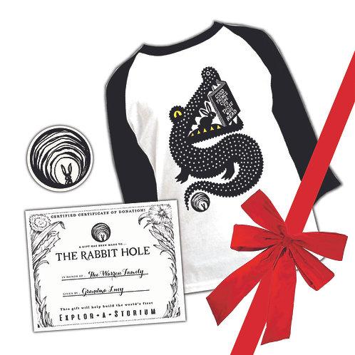 Good Things Come single T-shirt gift set