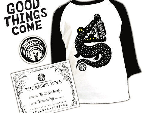 Good Things Come single T-shirt gift set (Youth shirt pictured)