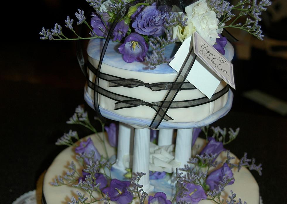Tiered Birthday Cake