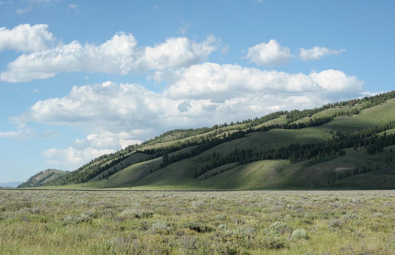 Wyoming outside Jackson Hole
